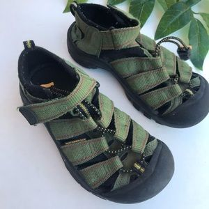 Keen Canvas Athletic Water Hiking Sandals
